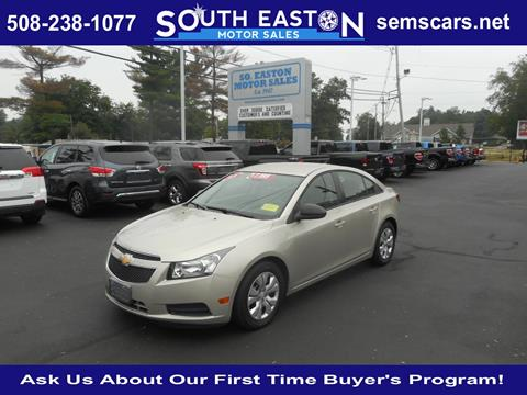 2013 Chevrolet Cruze for sale in South Easton MA