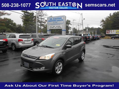 2014 Ford Escape for sale in South Easton MA