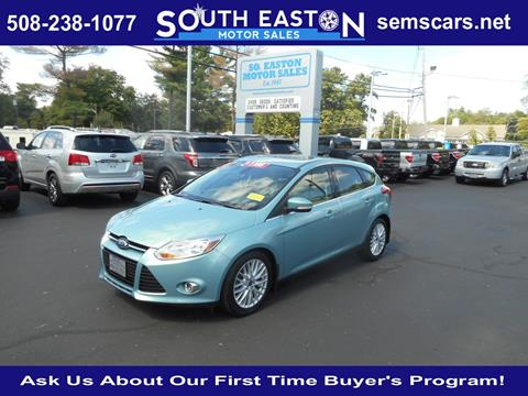 2012 Ford Focus for sale in South Easton MA