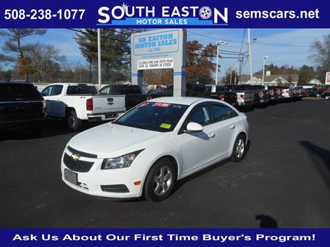 2014 Chevrolet Cruze for sale in South Easton MA