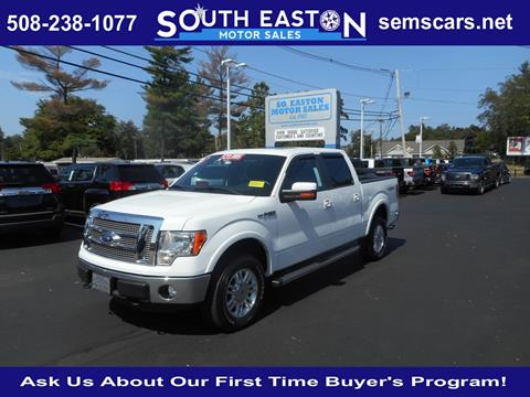 2011 Ford F-150 for sale in South Easton MA