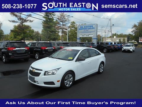 2013 Chevrolet Cruze for sale in South Easton, MA