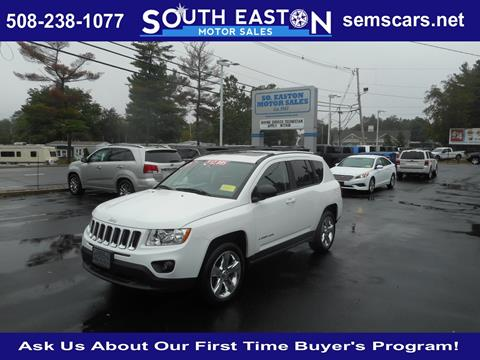 2012 Jeep Compass for sale in South Easton, MA