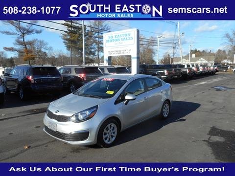 2016 Kia Rio for sale in South Easton MA