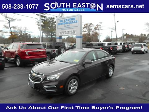 2015 Chevrolet Cruze for sale in South Easton, MA