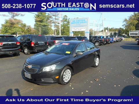 2011 Chevrolet Cruze for sale in South Easton, MA