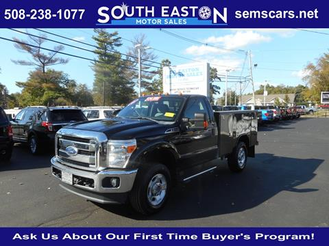 2012 Ford F-350 Super Duty for sale in South Easton, MA
