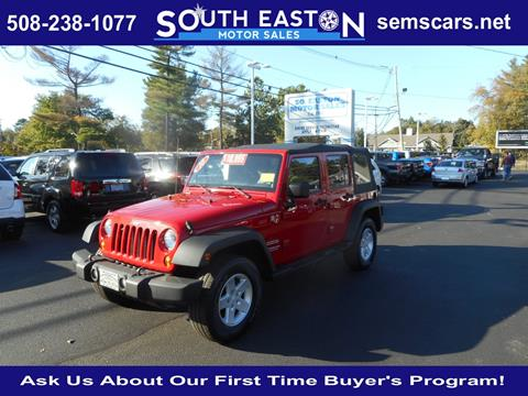 2010 Jeep Wrangler Unlimited for sale in South Easton, MA