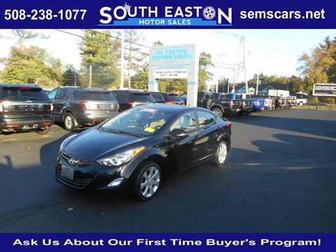 2012 Hyundai Elantra for sale in South Easton MA