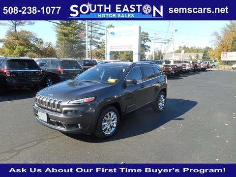 2015 Jeep Cherokee for sale in South Easton MA