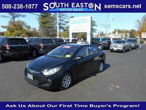 2012 Hyundai Accent for sale in South Easton, MA