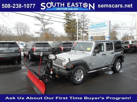 2012 Jeep Wrangler For Sale In Massachusetts