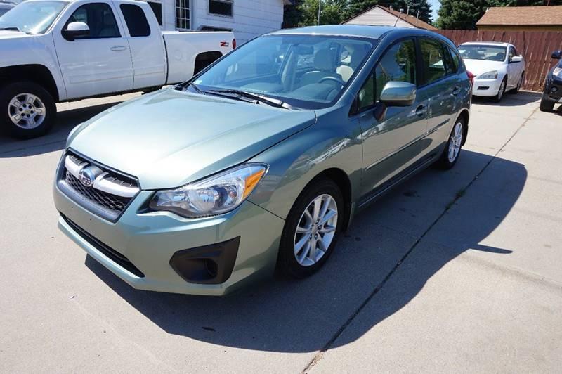 2014 Subaru Impreza Awd 20i Premium 4dr Wagon Cvt In Sioux Falls