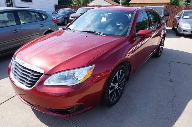 2012 Chrysler 200 Touring 4dr Sedan In Sioux Falls Sd Motor Solutionrhmotorsolution: Chrysler Sd Sensor Location At Elf-jo.com