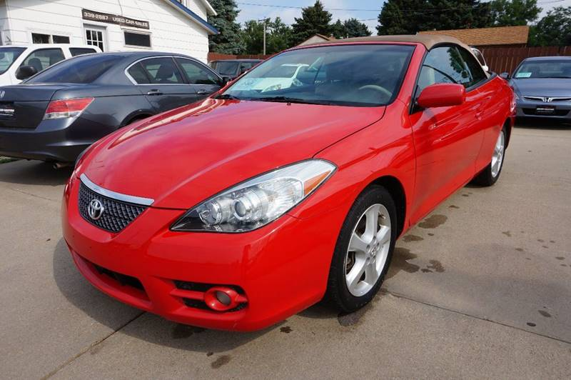 2008 toyota camry solara sle v6 2dr convertible 5a in sioux falls sd motor solution. Black Bedroom Furniture Sets. Home Design Ideas