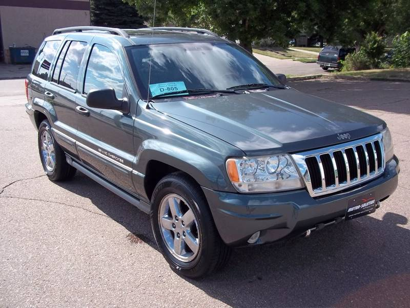 2004 jeep grand cherokee overland 4wd 4dr suv in sioux falls sd motor solution. Black Bedroom Furniture Sets. Home Design Ideas