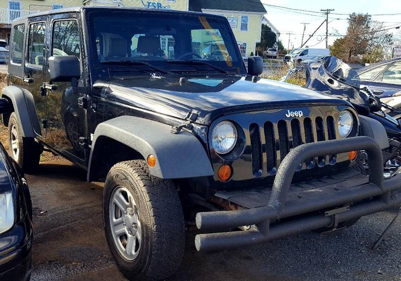 2008 Jeep Wrangler Unlimited X In Salem Nh High Line Auto Sales