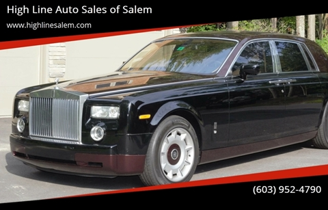 2004 Rolls-Royce Phantom for sale at High Line Auto Sales of Salem in Salem NH