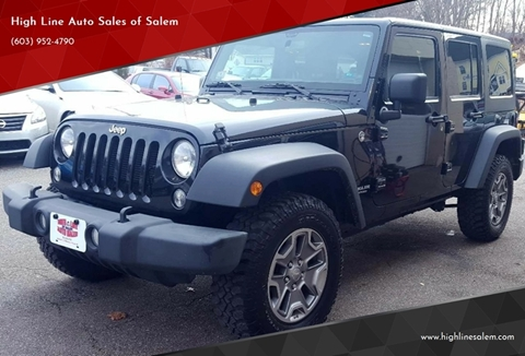 2014 Jeep Wrangler Unlimited for sale in Salem, NH