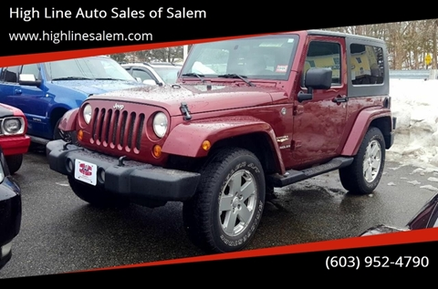 2007 Jeep Wrangler for sale in Salem, NH