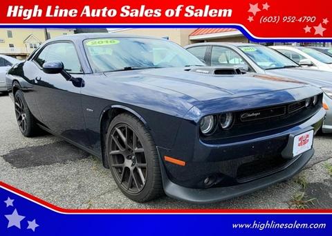 2016 Dodge Challenger for sale in Salem, NH