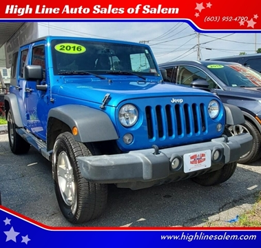 2016 Jeep Wrangler Unlimited for sale in Salem, NH