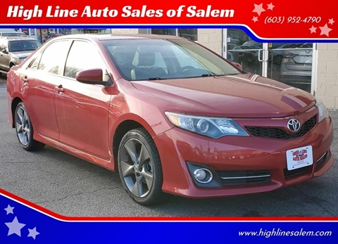 Toyota Salem Nh >> Toyota For Sale In Salem Nh High Line Auto Sales Of Salem