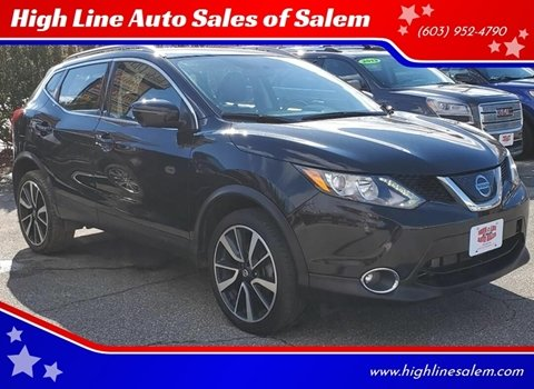 2018 Nissan Rogue Sport for sale at High Line Auto Sales of Salem in Salem NH