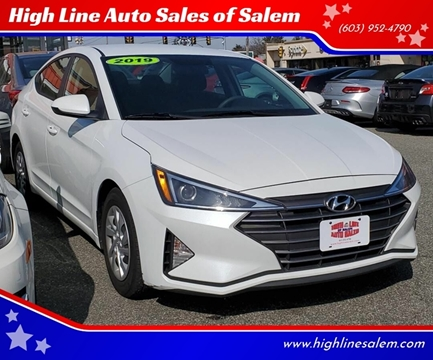 2019 Hyundai Elantra for sale at High Line Auto Sales of Salem in Salem NH