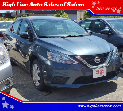 2017 Nissan Sentra for sale at High Line Auto Sales of Salem in Salem NH