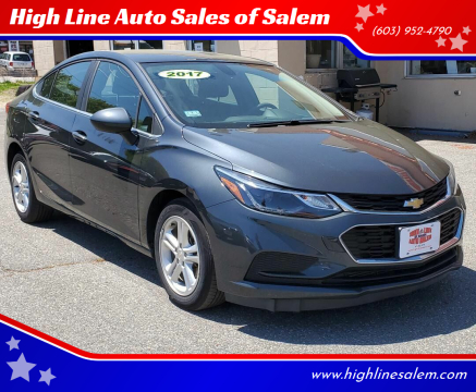 2017 Chevrolet Cruze for sale at High Line Auto Sales of Salem in Salem NH