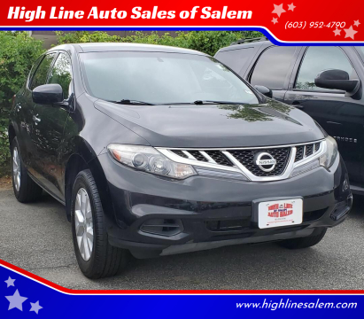2011 Nissan Murano for sale at High Line Auto Sales of Salem in Salem NH