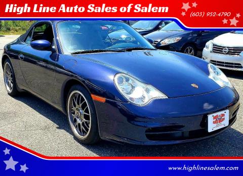 2004 Porsche 911 for sale at High Line Auto Sales of Salem in Salem NH