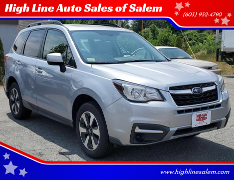 2017 Subaru Forester for sale at High Line Auto Sales of Salem in Salem NH