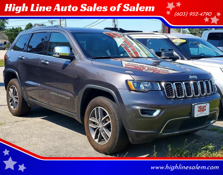 2017 Jeep Grand Cherokee for sale at High Line Auto Sales of Salem in Salem NH