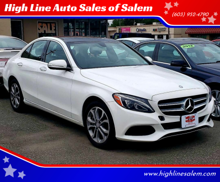 2015 Mercedes-Benz C-Class for sale at High Line Auto Sales of Salem in Salem NH