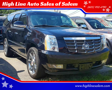 2011 Cadillac Escalade ESV for sale at High Line Auto Sales of Salem in Salem NH