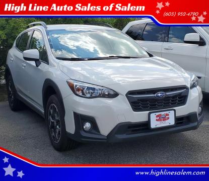 2018 Subaru Crosstrek for sale at High Line Auto Sales of Salem in Salem NH