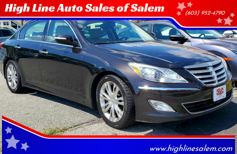 2014 Hyundai Genesis for sale at High Line Auto Sales of Salem in Salem NH