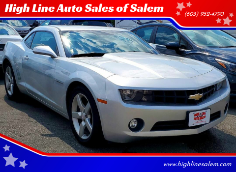 2011 Chevrolet Camaro for sale at High Line Auto Sales of Salem in Salem NH
