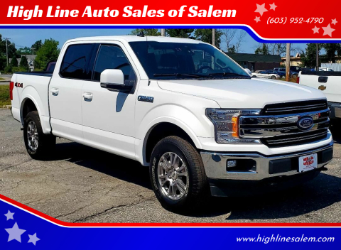 2020 Ford F-150 for sale at High Line Auto Sales of Salem in Salem NH