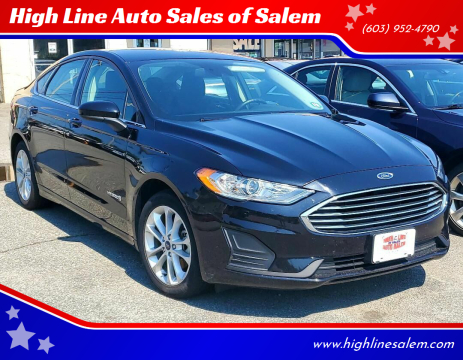 2019 Ford Fusion Hybrid for sale at High Line Auto Sales of Salem in Salem NH