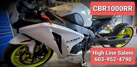 2008 Honda CBR1000RR for sale at High Line Auto Sales of Salem in Salem NH