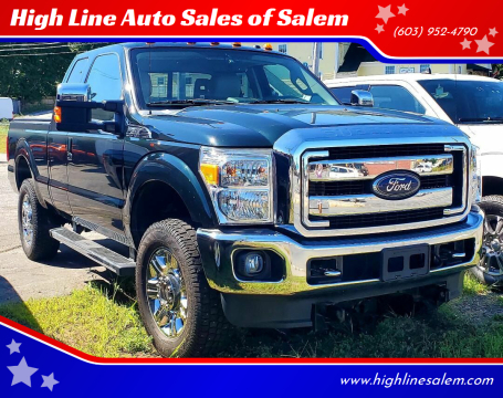 2015 Ford F-350 Super Duty for sale at High Line Auto Sales of Salem in Salem NH