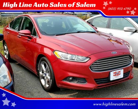 2015 Ford Fusion for sale at High Line Auto Sales of Salem in Salem NH