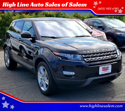 2015 Land Rover Range Rover Evoque for sale at High Line Auto Sales of Salem in Salem NH