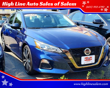 2020 Nissan Altima for sale at High Line Auto Sales of Salem in Salem NH