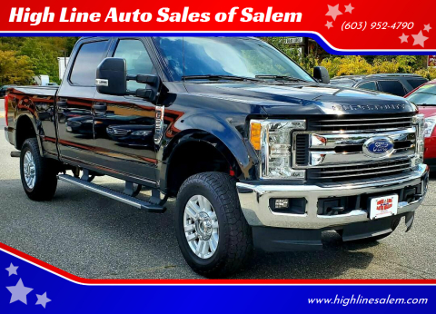 2017 Ford F-250 Super Duty for sale at High Line Auto Sales of Salem in Salem NH