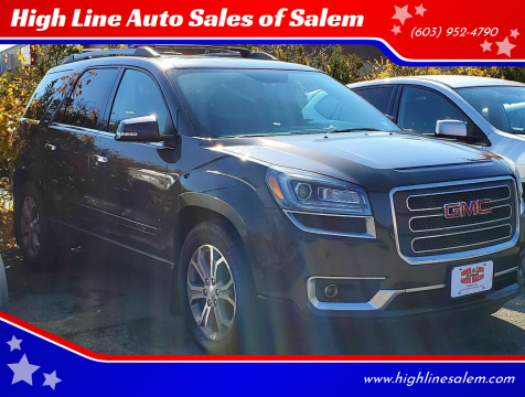 2013 GMC Acadia for sale at High Line Auto Sales of Salem in Salem NH