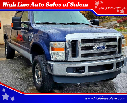 2008 Ford F-250 Super Duty for sale at High Line Auto Sales of Salem in Salem NH